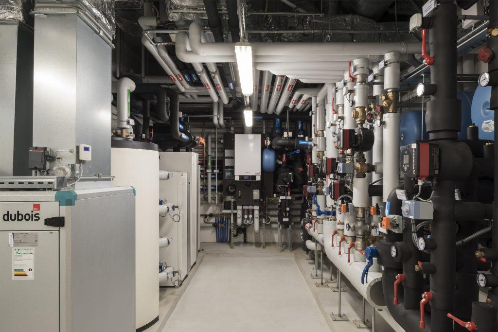 Technische ruimte door Dubois Control